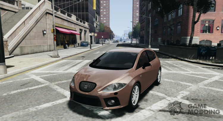 Seat Leon Cupra v. 2 for GTA 4