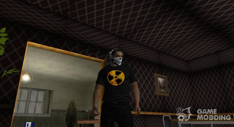 New shirt for CJ2015 for GTA San Andreas