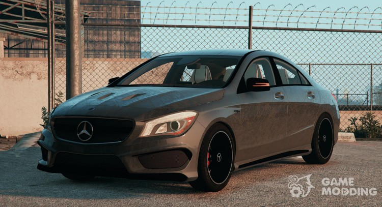 Mercedes-Benz CLA45 AMG Black DTD edition for GTA 5