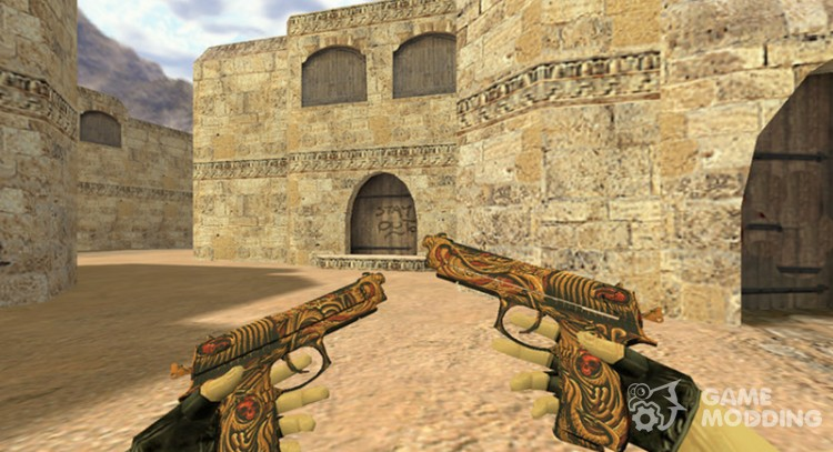 Dual Elites the Pattern is dead for Counter Strike 1.6