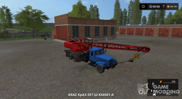 KrAZ-257 CS-4561 version 1.0 for Farming Simulator 2017