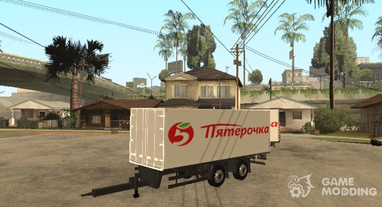Trailer for MAN TGA Pyaterochka for GTA San Andreas