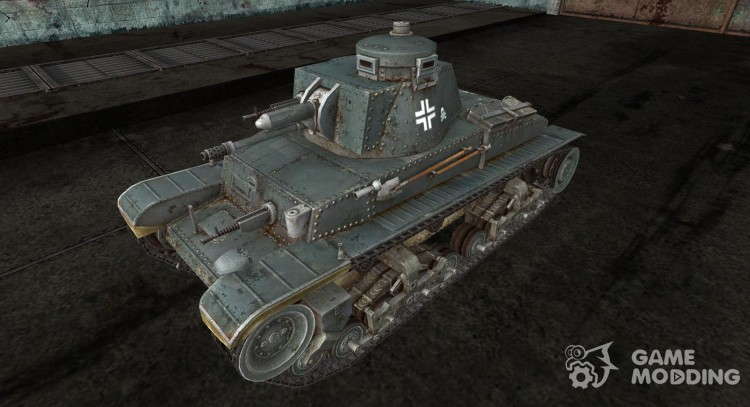 Skin to Panzer 35 (t) for World Of Tanks