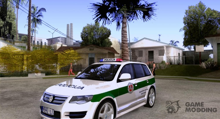 Volkswagen Touareg Policija Was for GTA San Andreas