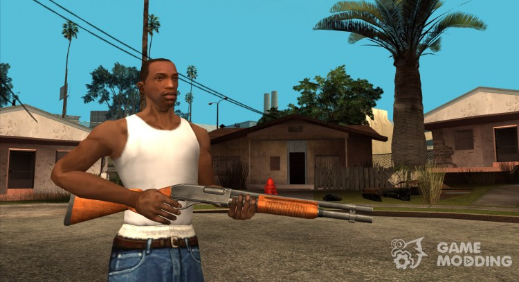HQ Shotgun (HD With Original Icon) for GTA San Andreas
