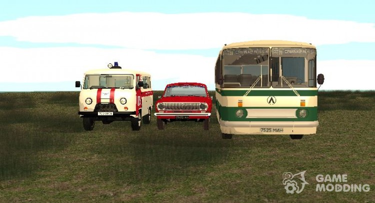 Cars of the USSR by Mikhail Pasynkova for GTA San Andreas