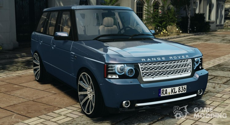 Land Rover Supercharged 2012 v 1.5 for GTA 4