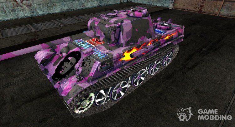 Panzer V Panther 09 for World Of Tanks