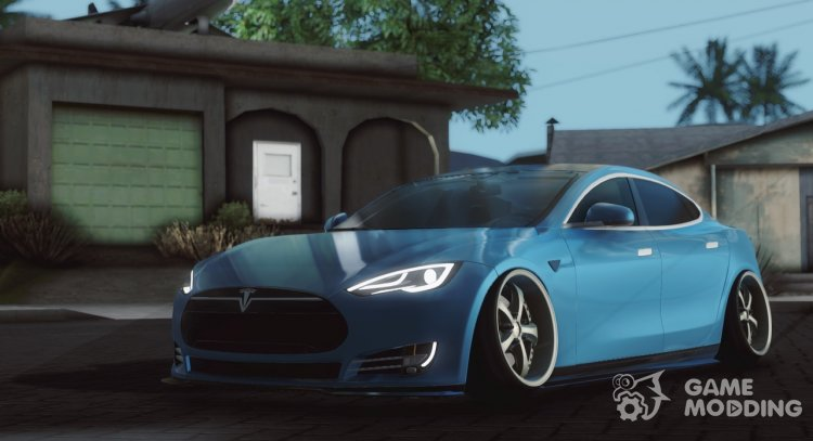 Tesla Model S Stance for GTA San Andreas