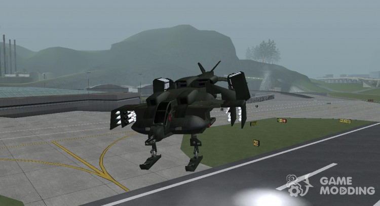 Aliens vs  Predator Marine Drobship for GTA San Andreas