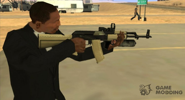 AK47 from COD MW2 for GTA San Andreas