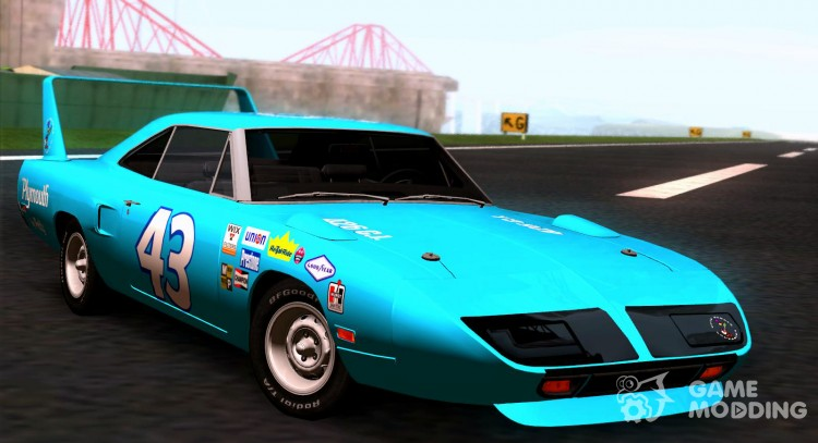 Plymouth Roadrunner Superbird RM23 1970 для GTA San Andreas