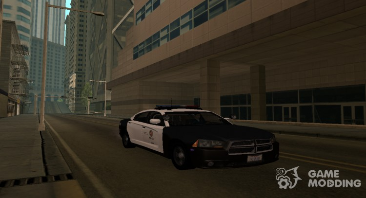 Dodge Charger Police Interceptor для GTA San Andreas