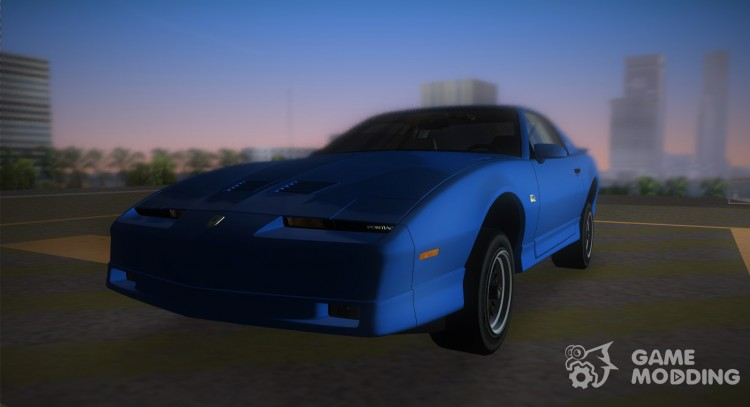 Pontiac Firebird Trans Am 1987 (HQ) for GTA Vice City