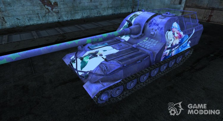 Anime skin for A 261 for World Of Tanks