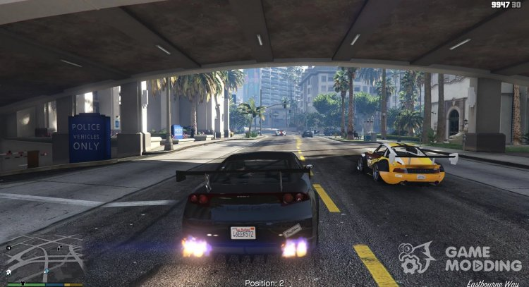 Street Racing 0.11.0 for GTA 5