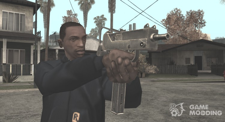 HD Micro Uzi (With HQ Original Icon) для GTA San Andreas