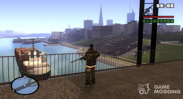 Memory2048 for GTA San Andreas