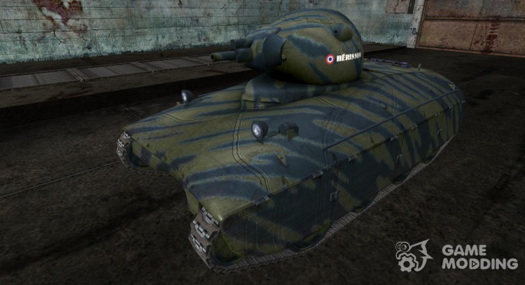 Skin for AMX40 of PogS # 6 for World Of Tanks