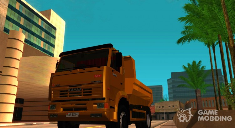 KAMAZ 53605 TAI version 1.1 for GTA San Andreas