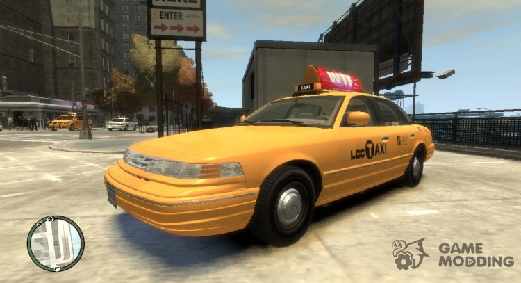 1995 Ford Crown Victoria LC Taxi for GTA 4