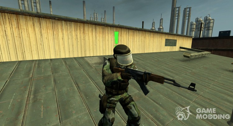 Gign AKA SAS for Counter-Strike Source