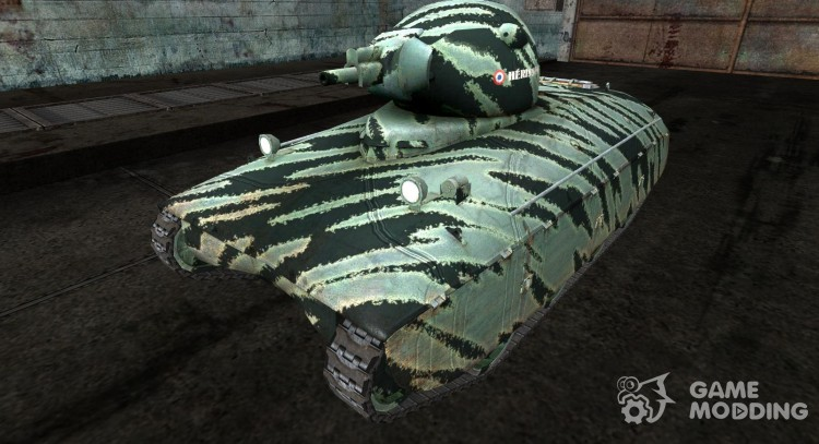 Skin for AMX40 of PogS # 3 for World Of Tanks