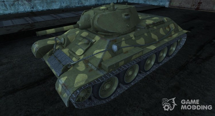 T-34 from coldrabbit for World Of Tanks