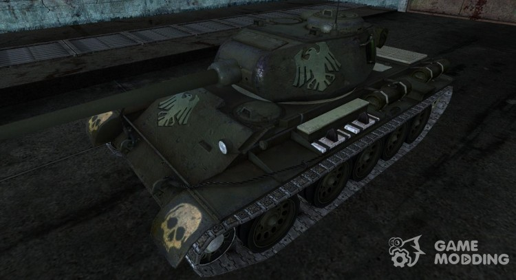 T-44 from detrit for World Of Tanks