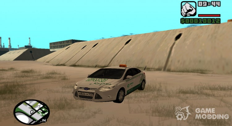 Ford Focus Taxi Tatarstan for GTA San Andreas