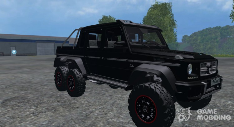 Mercedes-Benz AMG G65 6 x 6 for Farming Simulator 2015
