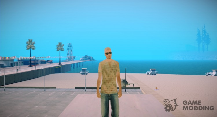 White tank for GTA San Andreas