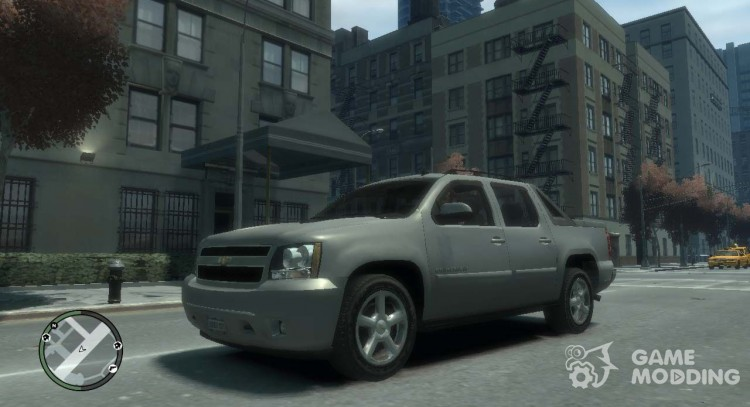 Chevrolet Avalanche 2007 for GTA 4