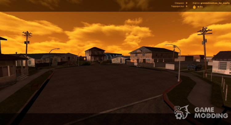 Grove Street (Ganton) for Counter-Strike Source