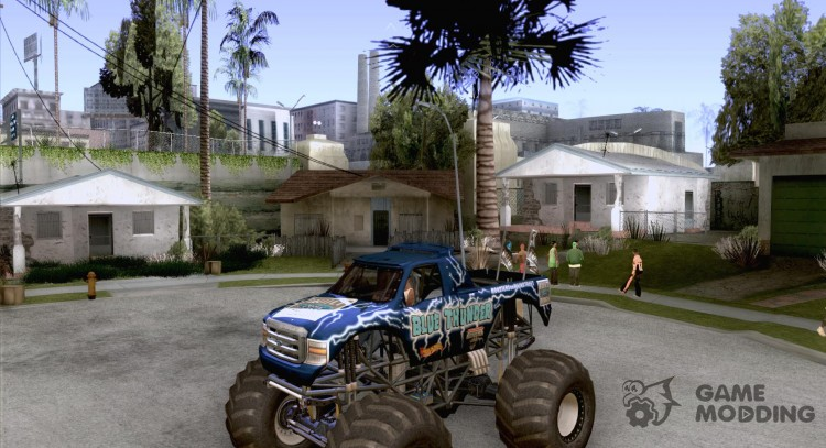 Blue Thunder Monster Truck for GTA San Andreas