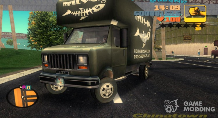 Bellyup in the style of VC for GTA 3