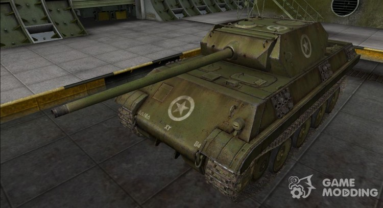 The skin for the Panther M10 for World Of Tanks