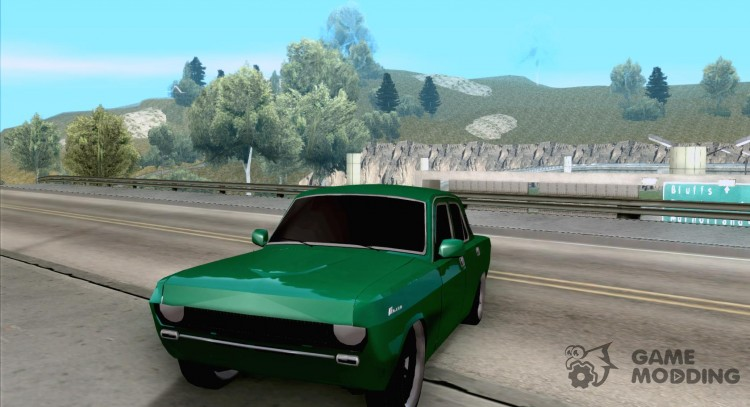 GAZ Volga 24 v2 (beta) for GTA San Andreas