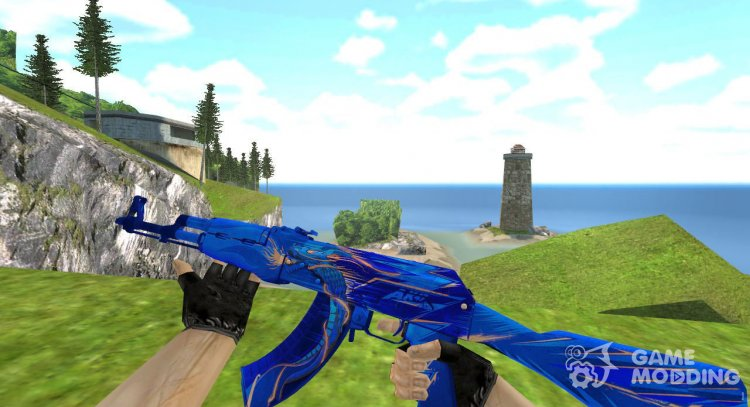 AK-47 Drakestorm for Counter Strike 1.6