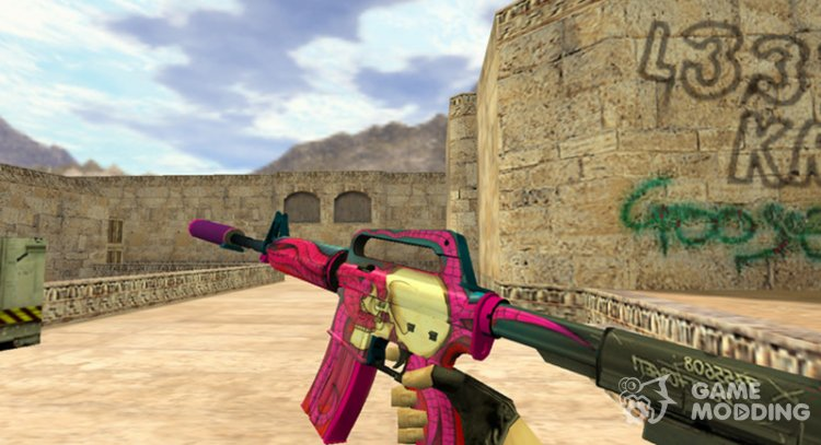 M4A1 Hermes for Counter Strike 1.6