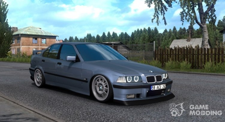 BMW 3-Series E36 for Euro Truck Simulator 2