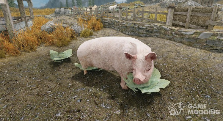 Summon Farm Animals - Mounts and Followers for TES V: Skyrim