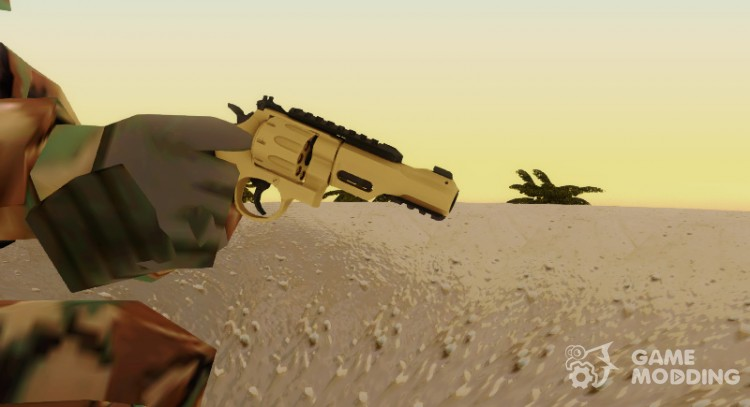 Revolver R8 Gold for GTA San Andreas