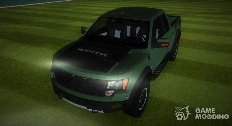 Ford F-150 SVT Raptor 2 Paintjob for GTA Vice City