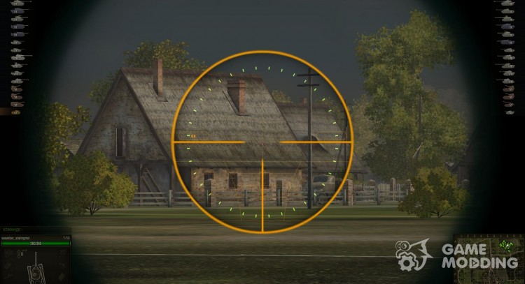 Sniper sight for World Of Tanks