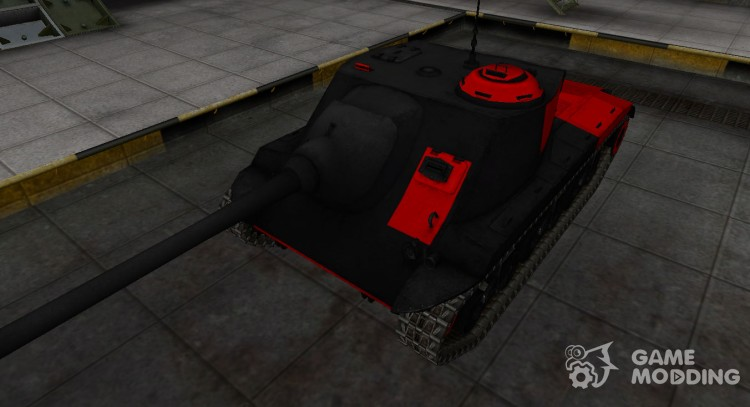 Black and red zone breakthrough T25 AT for World Of Tanks
