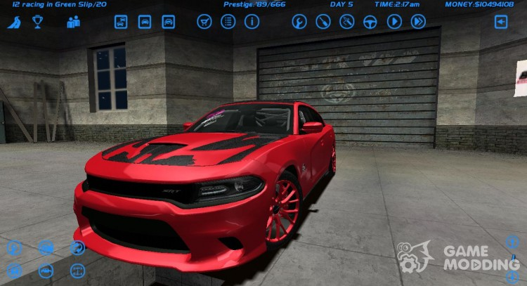 Dodge Charger Hellcat для Street Legal Racing Redline