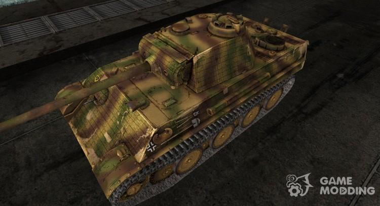 Skin for Pz V Panther for World Of Tanks
