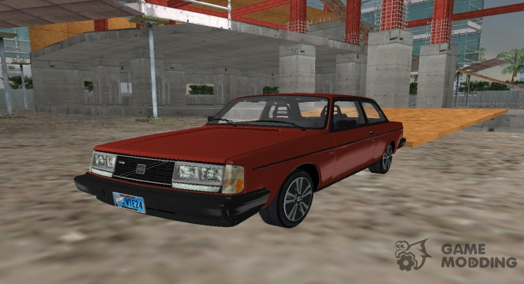 Volvo 242 Turbo Evolution v.2.0 for GTA Vice City