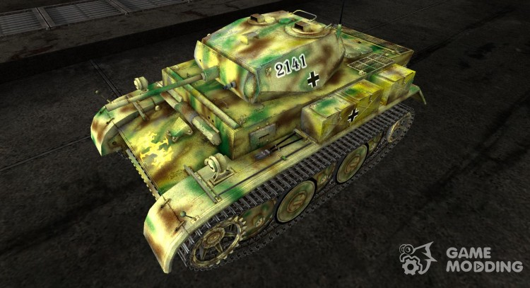 Skin for the Panzer II Luchs for World Of Tanks
